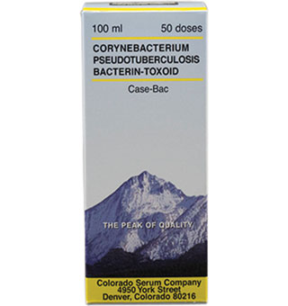 COLORADO SERUM INC CASE-BAC 100 ML (50 DOSES)