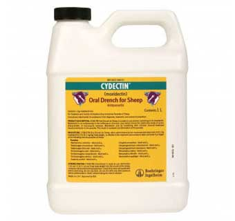 CYDECTIN® SHEEP .1% DRENCH 4000 ML BOTTLE