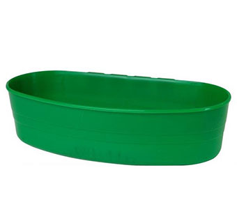 PLASTIC CAGE CUP - 1 QUART - GREEN - EACH