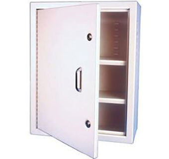 JORVET™ NARCOTICS WALL CABINETS 29-1/2 IN W X 23-1/2 IN H X 10 IN D