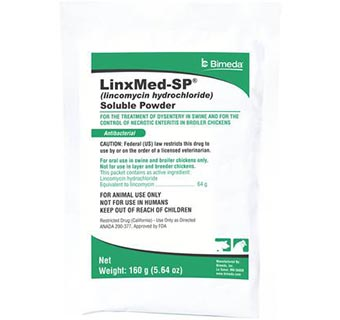LINCOMED SOLUBLE POWDER 160 G (RX)