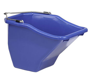 PLASTIC BETTER BUCKET - BLUE - 10 QUART - EACH