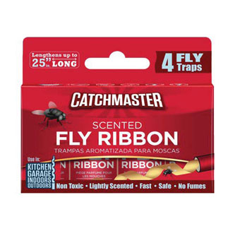 CATCHMASTER® BUG AND FLY RIBBON SOLID 4/PKG