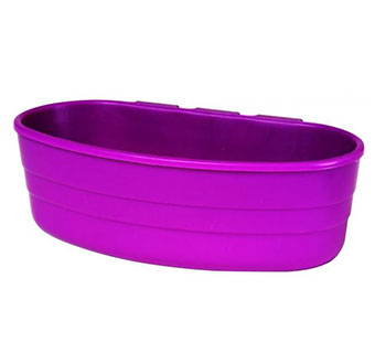 PLASTIC CAGE CUP - 1 PINT - PURPLE - EACH