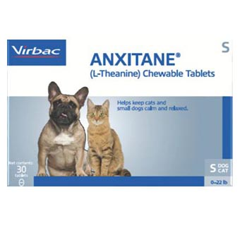 ANXITANE® TABLETS SMALL (CATS AND DOGS UNDER 22.1 LB) 50 MG (30 COUNT)