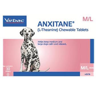 ANXITANE® TABLETS MEDIUM AND LARGE (DOGS OVER 22.1 LB) 100 MG (30 COUNT)