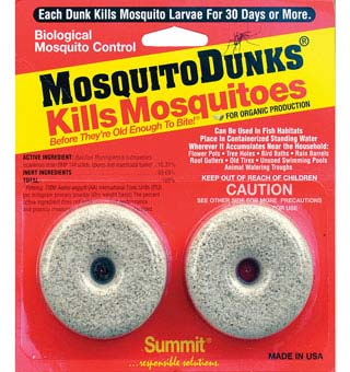 MOSQUITO DUNKS® 2 COUNT