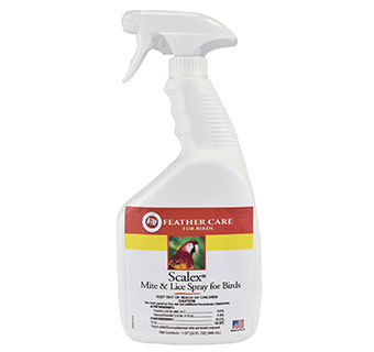 SCALEX MITE + LICE SPRAY 8 OZ