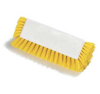 SPARTA DUAL SURFACE POLYPROPYLENE FLOOR SCRUB BRUSH WITH SIDE BRISTLES 12 INCH