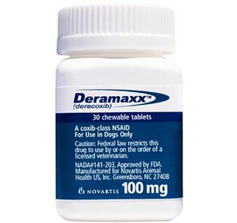 DERAMAXX® CHEWABLE TABLETS 100 MG 30/BOTTLE (RX)