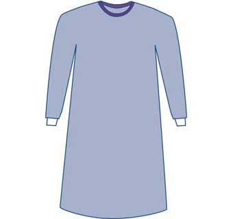 SURGICAL GOWN NON REINFORCED STERILE LARGE