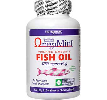 OMEGAMINT FISH OIL SOFTGEL CAPSULES 1750 MG 100 COUNT