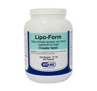 LIPO FORM CHEWABLE TABLETS 500 COUNT