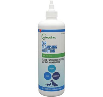 EAR CLEANSING SOLUTION 16 OZ