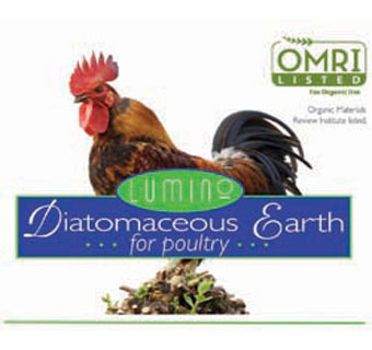 DIATOMACEOUS EARTH ORGANIC POULTRY HEALTH CARE 4 LB