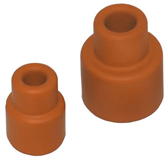 SLEEVE STOPPER - RED RUBBER - 20MM - EACH