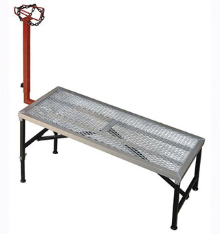 HYBRID SHEEP STAND 55 IN X 23 IN X 10 IN