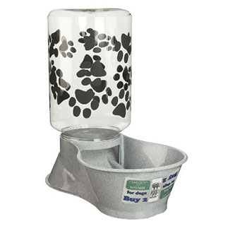 DOG FEEDER/WATER FOUNTAIN - 128OZ - EACH