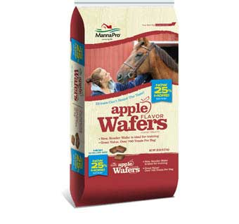 APPLE WAFERS HORSE TREATS - 20LBS