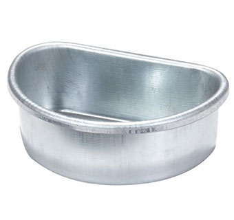 GALVANIZED METAL CAGE CUP - PINT - EACH