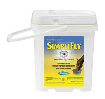 SIMPLIFLY WITH LARVASTOP FLY GROWTH REGULATOR 3.75 LB 60 DAY SUPPLY