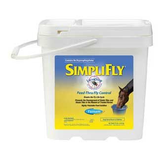 SIMPLIFLY WITH LARVASTOP FLY GROWTH REGULATOR 10 LB 160 DAY SUPPLY