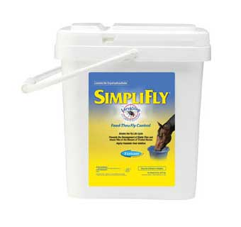 SIMPLIFLY WITH LARVASTOP FLY GROWTH REGULATOR 20 LB 320 DAY SUPPLY