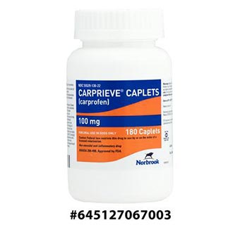 CARPRIEVE® CAPLETS 100 MG 180/BOTTLE (RX)