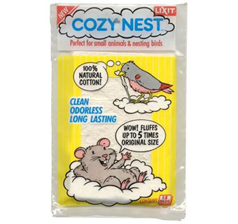 SMALL ANIMAL AND BIRD NESTING MATERIAL - 2OZ