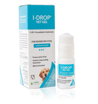 I-DROP® LUBRICATING VET GEL 10 ML SQUEEZE BOTTLE