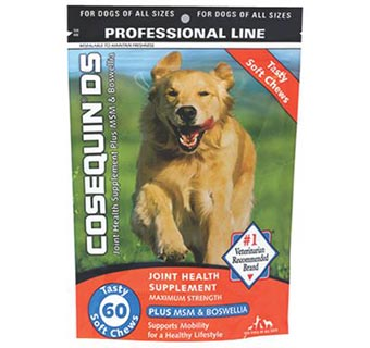 COSEQUIN® DS PLUS MSM & BOSWELLIA SOFT CHEWS 60/PKG