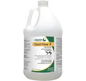 COCCI-CURE® P FOR POULTRY 9.6% GALLON