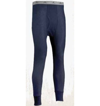 810DR TRADITIONAL LONG JOHNS THERMAL DRAWER BLACK L