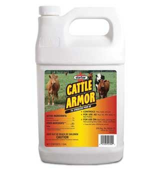 STARBAR® CATTLE ARMOR™ 1% SYNERGIZED POUR-ON 1 GAL BOTTLE