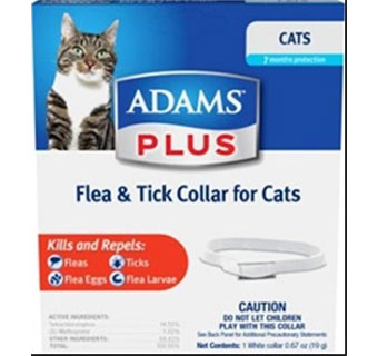 ADAMS™ PLUS FLEA AND TICK COLLAR - CAT/KITTEN - EACH