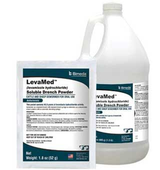 LEVAMED™ LEVAMISOLE SOLUBLE DRENCH POWDER 1.8 OZ