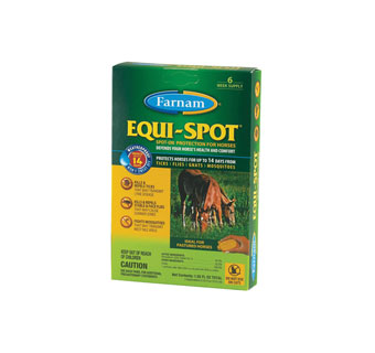 EQUI-SPOT® SPOT-ON PROTECTION 10 ML 6 WEEKS