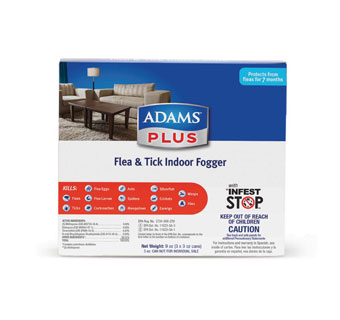 ADAMS PLUS FLEA TICK INDOOR FOGGER 3X3OZ