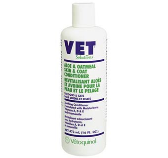ALOE AND OATMEAL SKIN AND COAT CONDITIONER 16 OZ