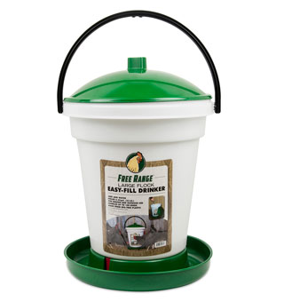 MANNA PRO FREE RANGE EASY FILL DRINKER 6.25 GALLON 1/PKG