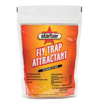 STARBAR® FLY TRAP ATTRACTANT REFILL 30 G RESEALABLE BAG 8/CS