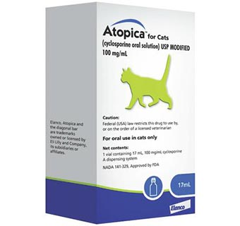 ELANCO ANIMAL HEALTH ATOPICA® FOR CATS 17 ML (RX)
