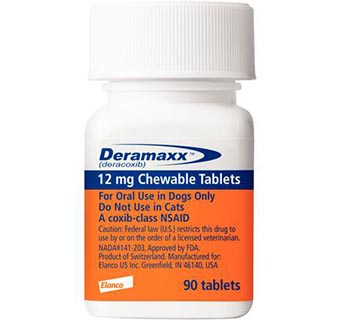 DERAMAXX® CHEWABLE TABLETS 12 MG 90/BOTTLE (RX)