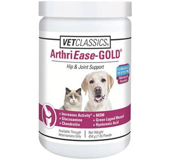 ARTHRIEASE-GOLD™ POWDER (DOGS AND CATS) 1 LB