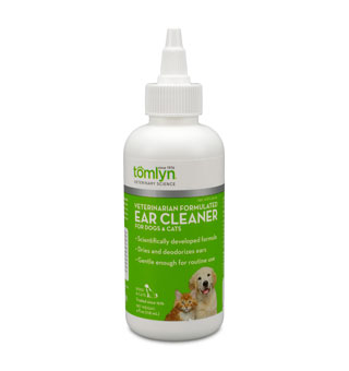 EAR CLEANER FOR DOGS & CATS 4 OZ 1/PKG