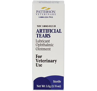 PATTERSON VETERINARY ARTIFICIAL TEARS OPHTHALMIC OINTMENT 3.5 G