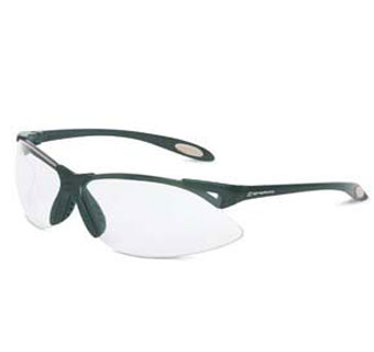 UVEX A900 ANTI-FOG SAFETY GLASSESBLACK/CLEAR POLYCARBONATE