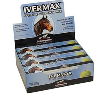 FIRST COMPANION IVERMAX® EQUINE PASTE DEWORMER 0.21 OZ