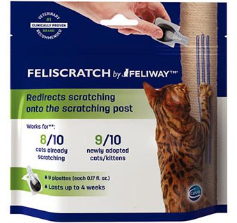 FELISCRATCH 9 PIPETTES/SATCHEL 4 SATCHELS/BOX