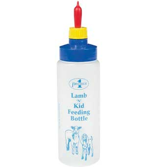 REPLACEMENT LAMB N KID FEEDING BOTTLE 16 OZ WITHOUT NIPPLE